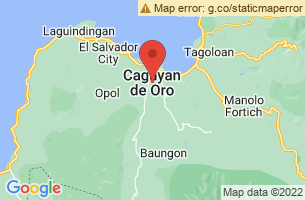 Map of Higalaay Festival, Cagayan de Oro Misamis Oriental