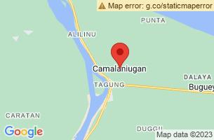Map of Camalaniugan, Camalaniugan Cagayan