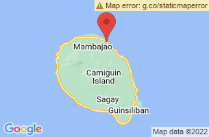 Map of Camiguin,