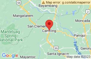 Map of Camiling, Camiling Tarlac