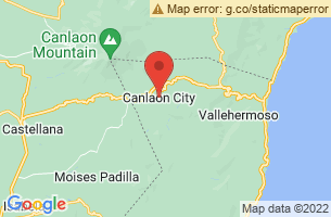 Map of Canlaon City, Canlaon City Negros Oriental