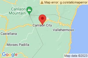 Map of Canlaon Century Balete Tree, Canlaon City Negros Oriental
