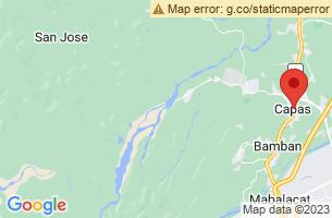 Map of Capas, Capas Tarlac