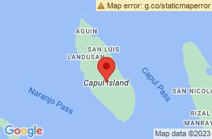 Map of Capul Island Lighthouse, Capul Northern Samar
