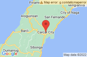 Map of Carcar City, Carcar City Cebu