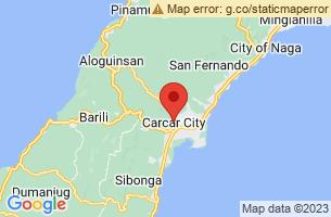 Map of Mainit Mabugnaw Cave, Carcar City Cebu