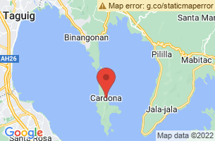 Map of Cardona, Cardona Rizal