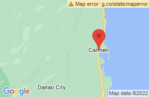 Map of Carmen, Carmen Cebu