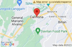 Map of Carmona, Carmona Cavite