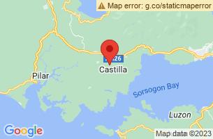 Map of Castilla, Castilla Sorsogon
