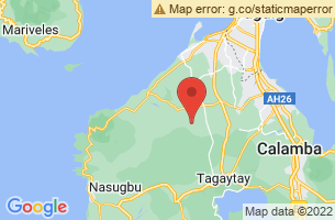 Map of Cavite,