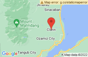 Map of Clarin, Clarin Bohol