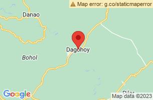 Map of Dagohoy, Dagohoy Bohol