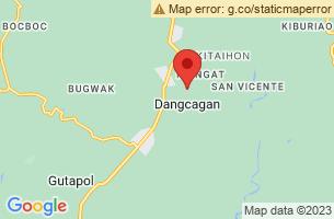 Map of Dangcagan, Dangcagan Bukidnon