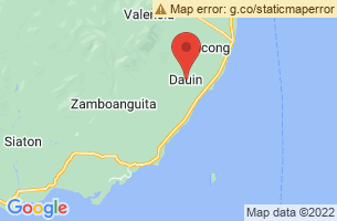 Map of Dauin, Dauin Negros Oriental