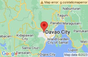 Map of Davao City, Davao City Davao del Sur