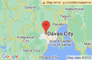 Map of Punta Dumalag Turtle Sanctuary, Davao City Davao del Sur