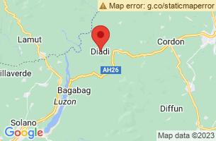 Map of Lower Magat Eco-Tourism Park, Diadi Nueva Vizcaya