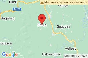 Map of Diffun, Diffun Quirino
