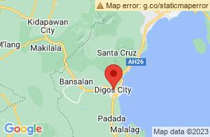 Map of Digos City, Digos City Davao del Sur