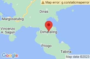 Map of Dimataling, Dimataling Zamboanga del Sur