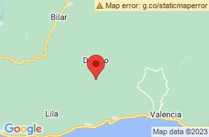 Map of Dimiao, Dimiao Bohol