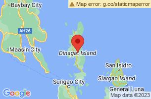 Map of Dinagat Islands,