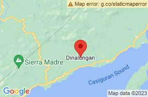 Map of Dinalungan, Dinalungan Aurora