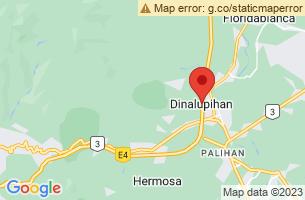 Map of Dinalupihan, Dinalupihan Bataan