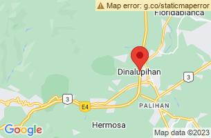 Map of Mount Malasimbo, Dinalupihan Bataan