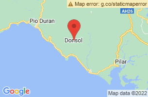 Map of Donsol Butanding Tour, Donsol Sorsogon
