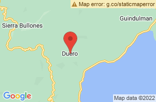 Map of Duero, Duero Bohol