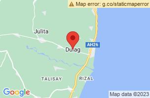 Map of Dulag, Dulag Leyte