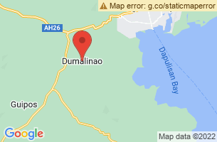 Map of Dumalinao, Dumalinao Zamboanga del Sur