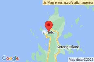 Map of El Nido, El Nido Palawan