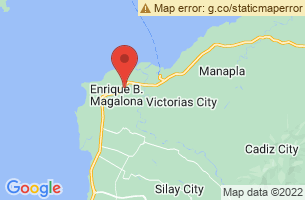 Map of Enrique B. Magalona, Enrique B. Magalona Negros Occidental