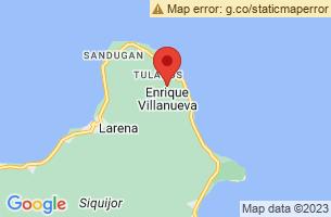 Map of Enrique Villanueva, Enrique Villanueva Siquijor