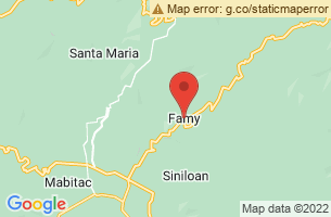 Map of Famy, Famy Laguna