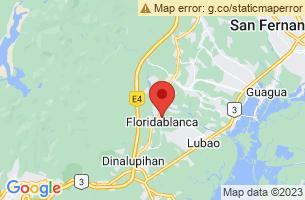 Map of Gumain River, Floridablanca Pampanga