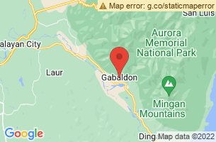 Map of Gabaldon Falls and Eco Park, Gabaldon Nueva Ecija