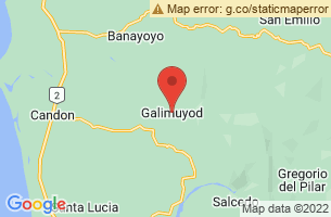Map of Galimuyod, Galimuyod Ilocos Sur