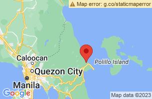 Map of General Nakar, General Nakar Quezon