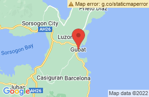 Map of Gubat, Gubat Sorsogon