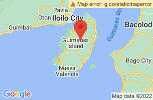 Map of Guimaras,