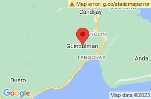 Map of Guindulman, Guindulman Bohol