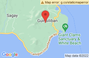 Map of Guinsiliban, Guinsiliban Camiguin