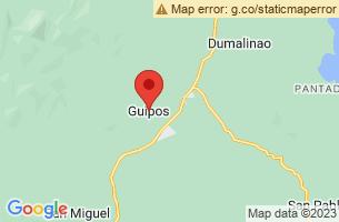 Map of Guipos, Guipos Zamboanga del Sur