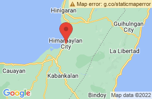 Map of Himamaylan City, Himamaylan City Negros Occidental