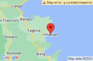 Map of Hinatuan Enchanted River, Hinatuan Surigao del Sur