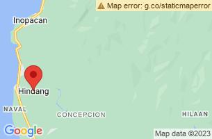 Map of Hindang, Hindang Leyte